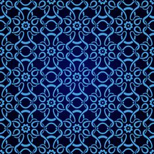 Free Blue Seamless Wallpaper Stock Image - 16891801