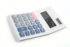 Free Calculator Royalty Free Stock Photography - 16891817
