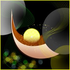 Free Tea With A Lemon, Abstraction Royalty Free Stock Image - 16891836