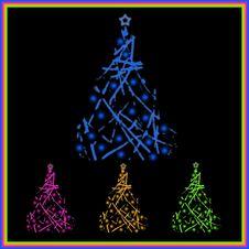 Free Christmas Tree Royalty Free Stock Photography - 16891897