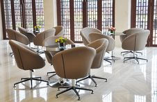 Free The Swivel Chairs In Reception Room Stock Photo - 16892160
