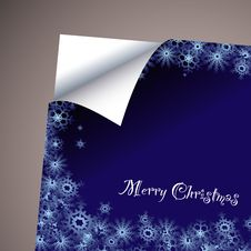 Free Wallpaper Paper Curl Christmas Royalty Free Stock Photos - 16892458