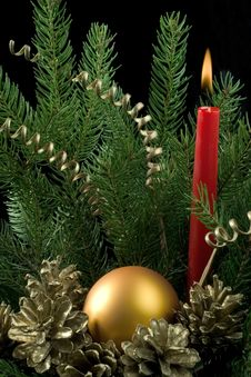 Free Christmas Decoration Royalty Free Stock Photography - 16892527