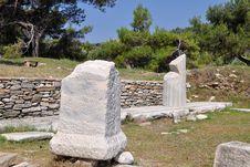 Free Excavation In Aliki, Thassos, Greece Stock Image - 16893341