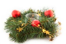 Free Christmas Wreaths Stock Images - 16893444