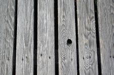 Boardwalk Boards Stock Photo
