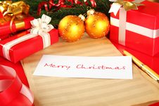 Free Christmas Card Royalty Free Stock Images - 16893749