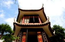 Lingnan Garden GuTing Royalty Free Stock Photography