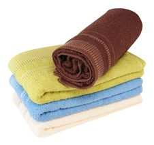 Free Bath Towels. Stock Photography - 16894322