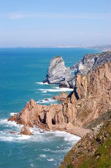 Free Coast Of Portugal Royalty Free Stock Photos - 16894418