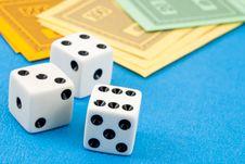 Free Gambling On The Money Stock Photos - 16894673