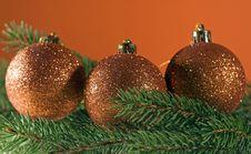 Free Christmas Balls Stock Photography - 16894892