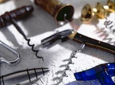 Free Corkscrews Royalty Free Stock Image - 16895786