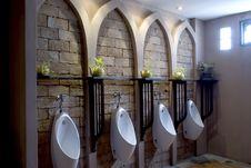 Men Toilet. Royalty Free Stock Photo
