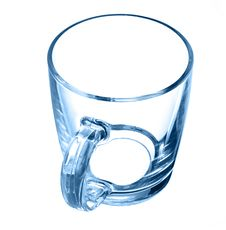 Free Glass Cup Black Stock Images - 16896214