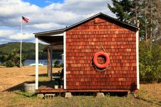 Free Boathouse Royalty Free Stock Image - 16896286