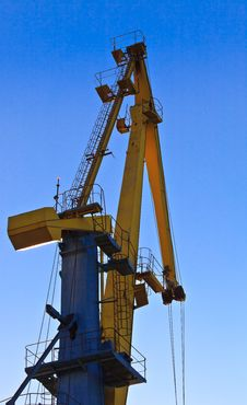 Free Port Cranes Stock Image - 16896681