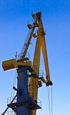 Free Port Cranes Stock Image - 16896681
