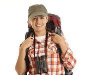 Free Portrait Of Hiker Stock Images - 16897904