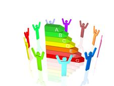 Free Energy Efficiency Concept Stock Photo - 16898590