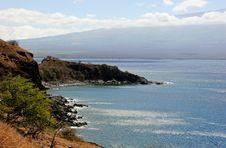 Tropical Shoreline Royalty Free Stock Photos
