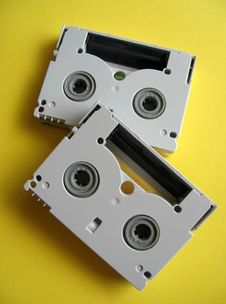 Free Mini DV Tapes Stock Photos - 1690003