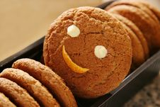 Free Cookies. Royalty Free Stock Images - 1690139