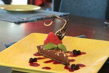 Free Dark Chocolate Dessert Stock Photography - 1690782