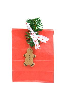 Free Red Christmas Bag Royalty Free Stock Images - 1691179