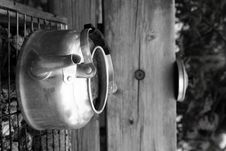 Free Outdoor Kettle With Tea Bags Stock Images - 1691184