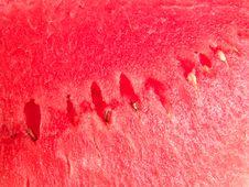 Juicy Watermelon Fresh Background Stock Image