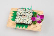 Free Sushi 4 Royalty Free Stock Photo - 1692255
