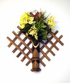 Free Flower Basket Royalty Free Stock Image - 1694876