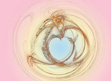 Free Valentin Heart Royalty Free Stock Photography - 1695077