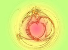 Free Valentin Heart Royalty Free Stock Image - 1695106