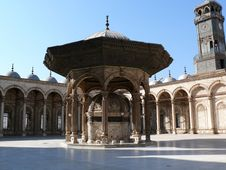 Free The Fountain Of The Mosque Stock Photography - 1695402