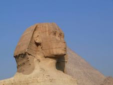The Sphinx Of Giza Stock Images