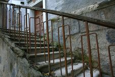 Free Old Staircase. Royalty Free Stock Images - 1695529