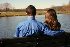 Free Loving Pair Enjoying Each Other S Company Stock Photos - 1696063