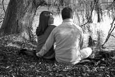 Free Enjoying Each Other S Company And Love Stock Photo - 1696080