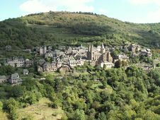 Free Conques Royalty Free Stock Photography - 1696527