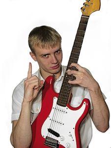 Free Guitarplayer5 Stock Photo - 1696960