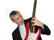 Free Guitarplayer3 Royalty Free Stock Image - 1696976