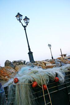 Free Fishing Net Royalty Free Stock Photos - 1699088