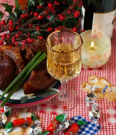 Free Holiday Dinning 5 Stock Photos - 1699773