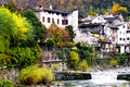 Free Houses On The River Stock Photography - 16906702