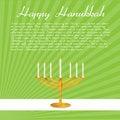 Free Happy Hanukkah Card Stock Images - 16906864