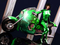 Free Woman With  Motorcycle Royalty Free Stock Photos - 16908588