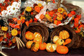 Free Pumpkin Harvest Arrangement Stock Images - 16909604