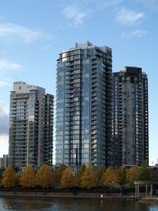 Free Vancouver Canada Cityscape Stock Photo - 16900160
